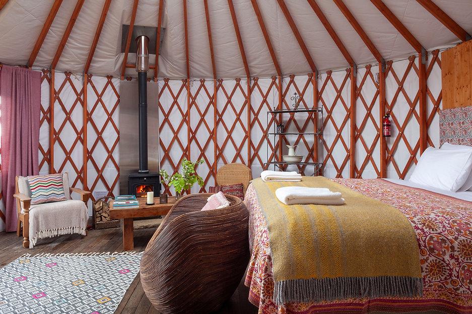 The Bog Yurt, Glamping, Ireland