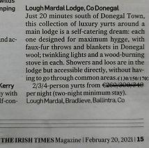 Staycation, Ireland
