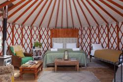 Cottongrass Yurt, Glamping