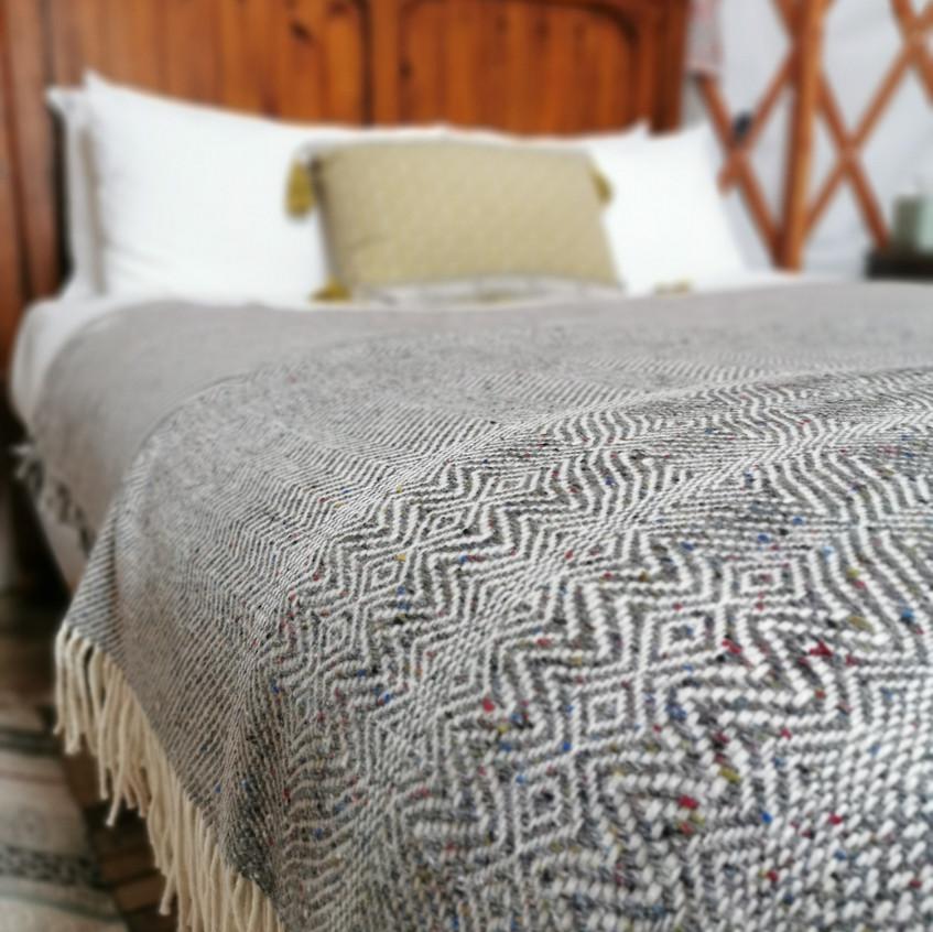 Donegal woollen blankets