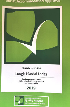 We are now a Failte Ireland Approved accommodation provider