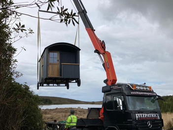 The Shepherd's Hut has landed!