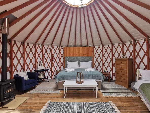 The Grove Yurt, Glamping, Ireland