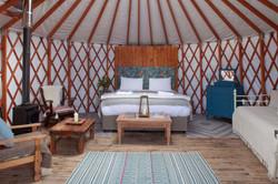 Sundew Yurt, Glamping, Ireland