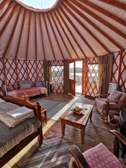 Sundew Yurt, Glamping Donegal
