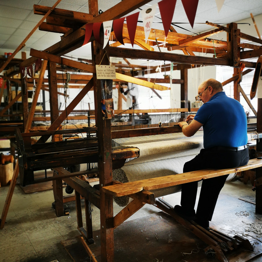 Donegal handweaving