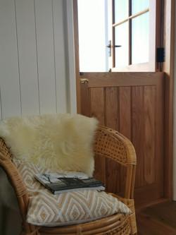 Sheepskin comfort, Glamping, Irel