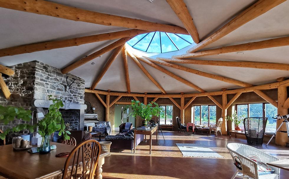 Reciprocal Room, Eco Lodge, Ireland