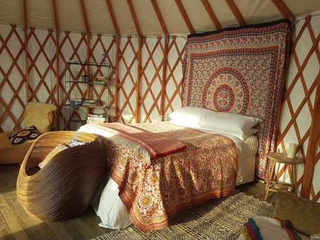 Skydome Yurt - reduced rate until end of May