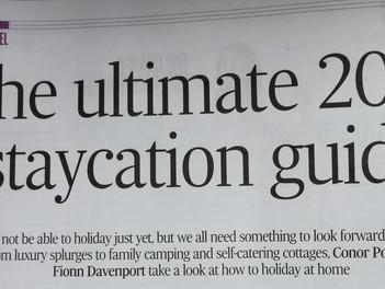 Irish Times '2021 Staycation Guide'