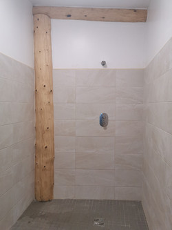 Showers near completion