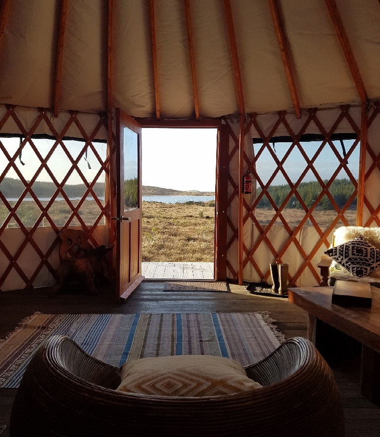 The Bog Yurt