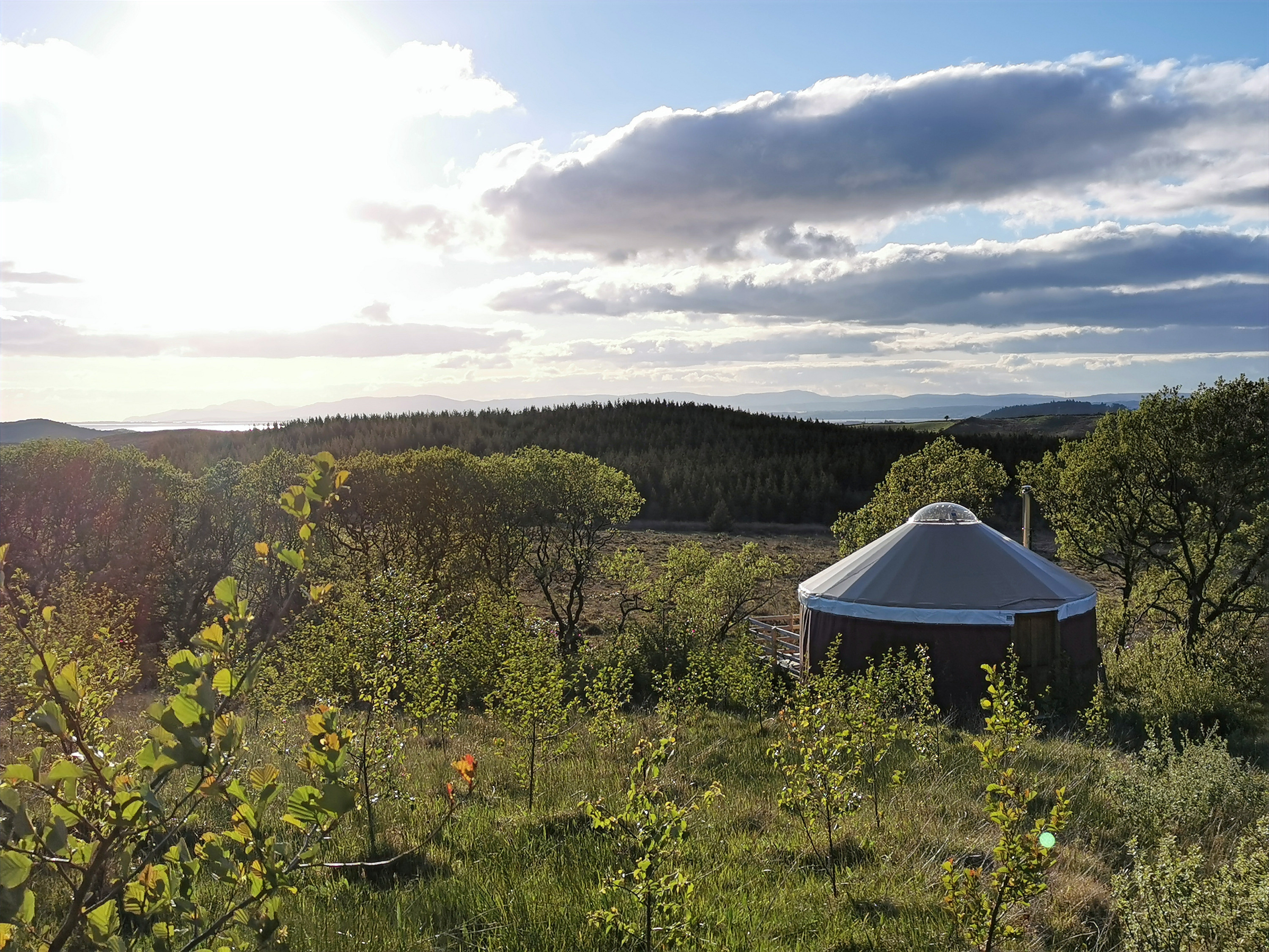 Yurt, Glamping, Staycation