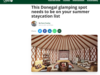Lough Mardal Lodge recommended by Lovin.ie