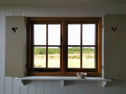 Shepherd's Hut with beautiful views