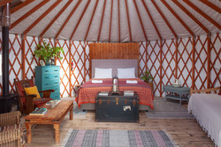 The North Brae Yurt, Glamping, Ireland
