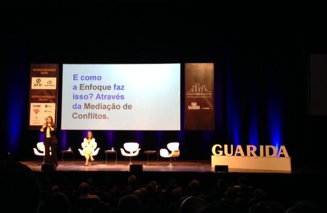 Palestra no evento promovido pela Guarida