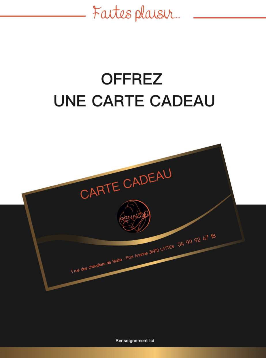 CARTE CADEAU RESTAURANT LATTES