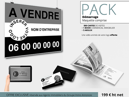 Pack Démarrage - Conseiller - Groupe Immo Annonces