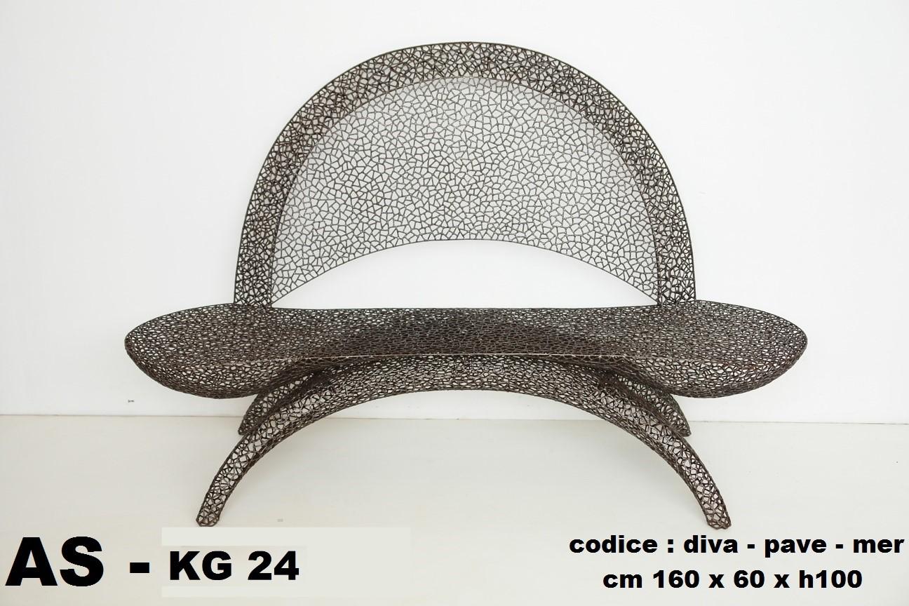 divano pave merletto