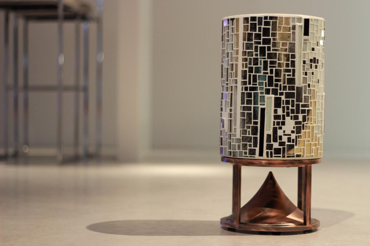 Cylinder mosaic prototype