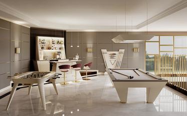 Vismara Design Billiard Room