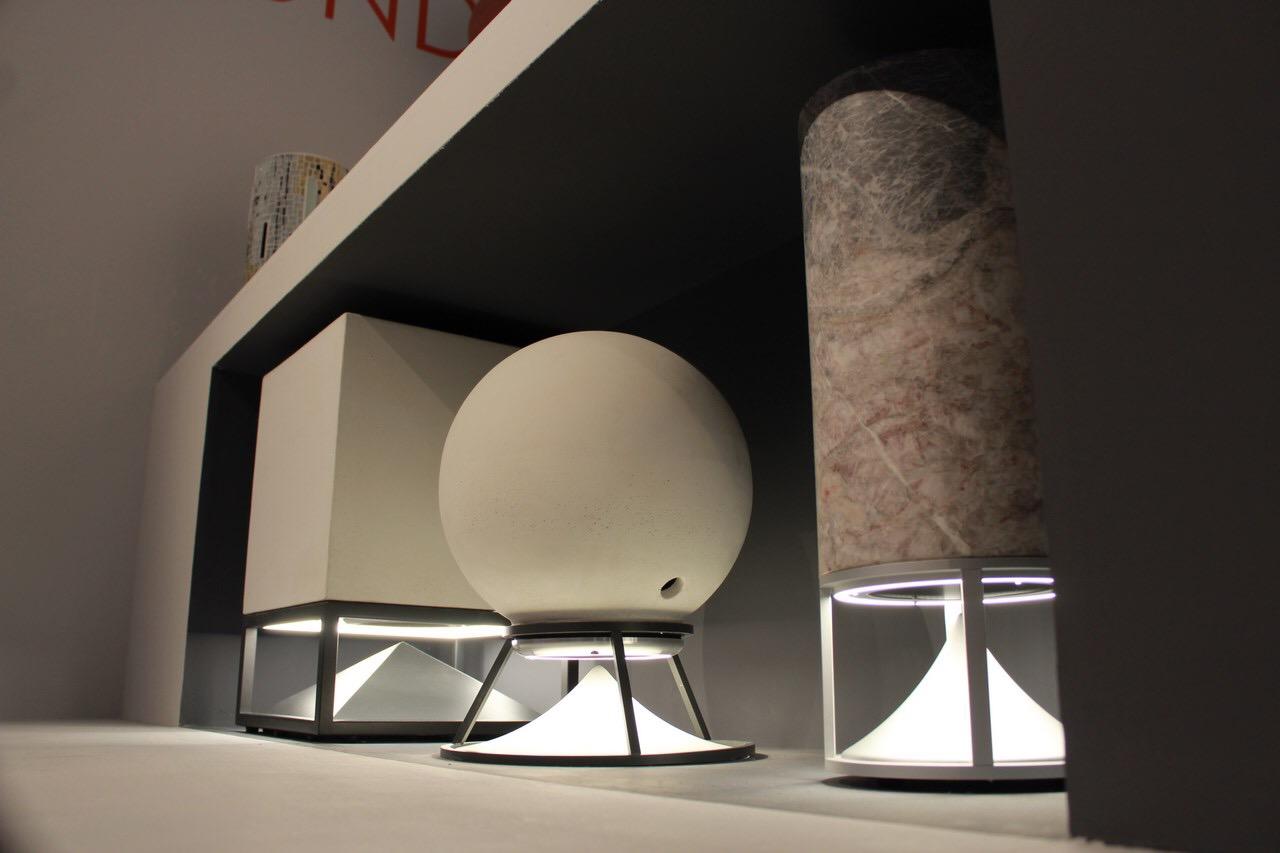 Cubo - Sphere - Cylinder Led light o