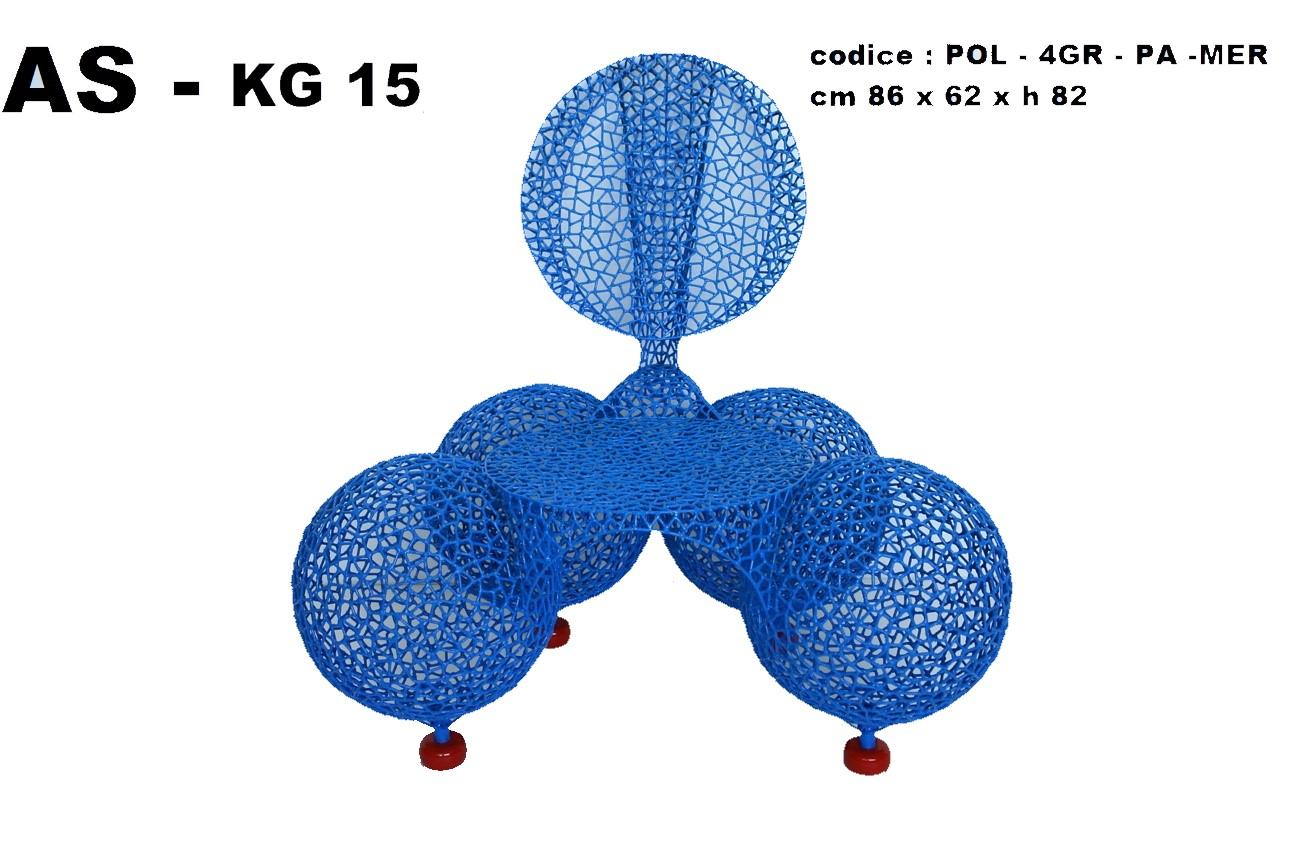 Quattro grosse palle merletto