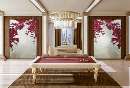 Vismara Design billiard table