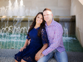 Wayland + Samantha - Kansas City Engagement Session