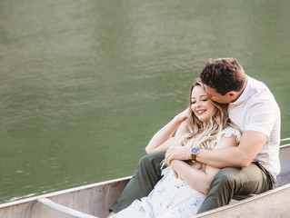 Kansas City Wedding Photographer // Abby + Doug Engagement Session