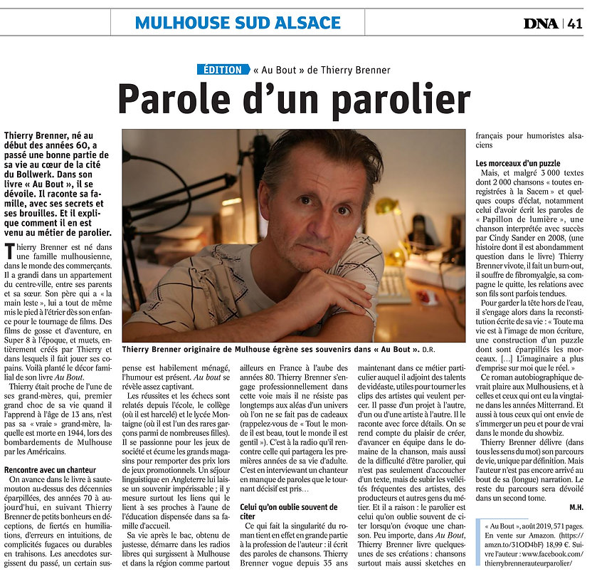Article Au bout DNA 09 10 2019.jpg