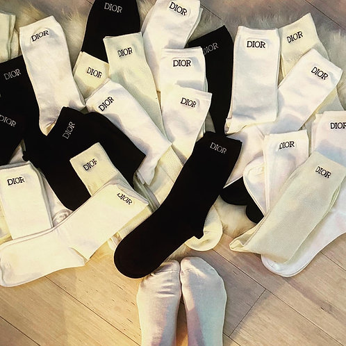 Dior socks designer inspired