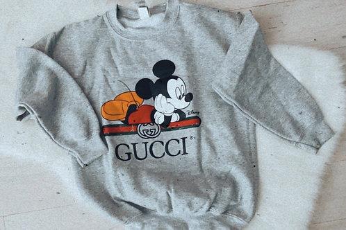 Childrens  Mickey gg sweatshirt