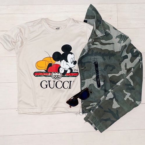 Cool and dry Mickey gg T-shirt youth