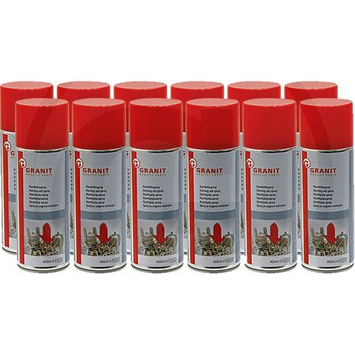 Starting aid spray 400ml pack of 12