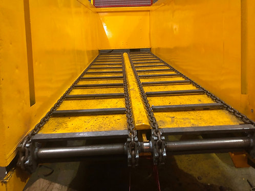 4 Drive chains with welded lugs @ 10 metres