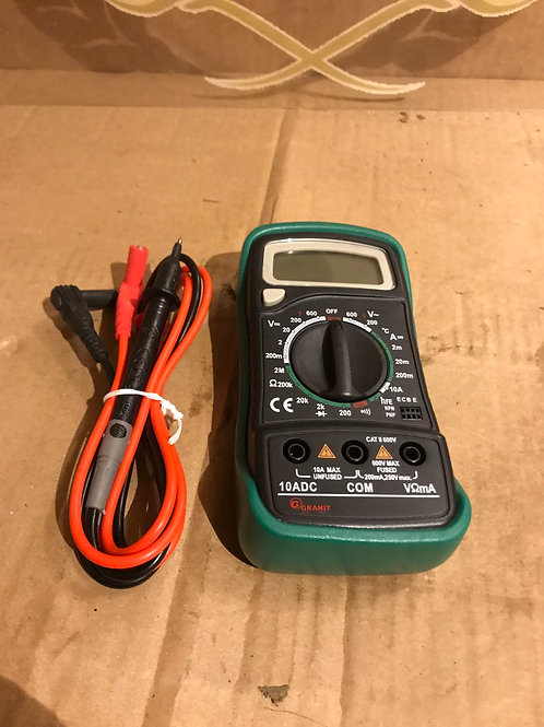 Multimetre electrical tester