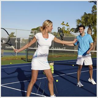 Tennis in the Algarve