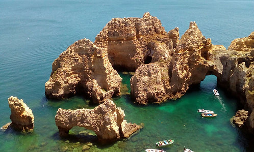 Full Day Algarve Tour by Convertible