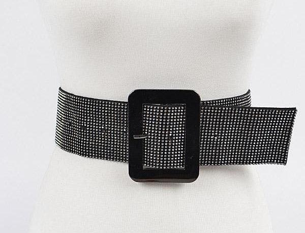 Black Crystals Belt