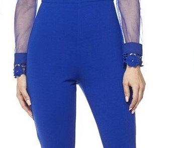 Royal Lace Jumpsuit