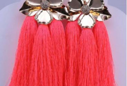 Pink Fringed