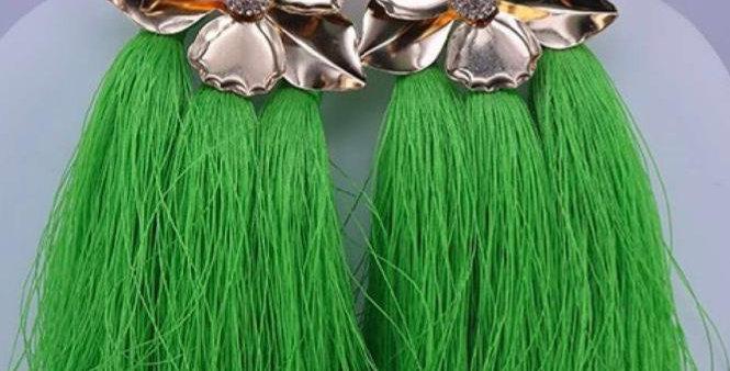 Green Fringed