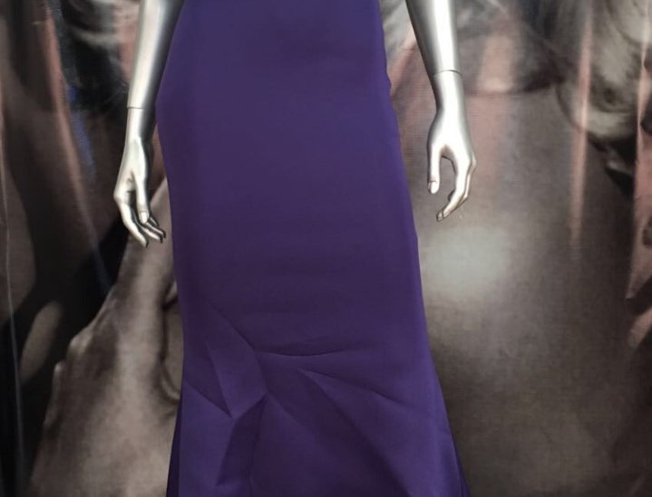Party Purple Long Dress