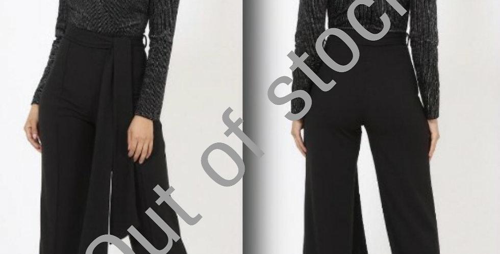Black / Silver Jumpsuit