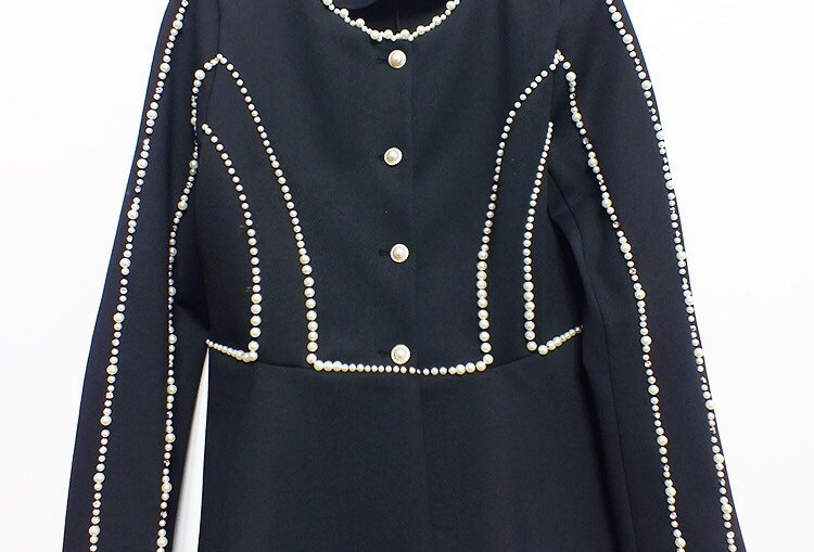 Pearls Coat