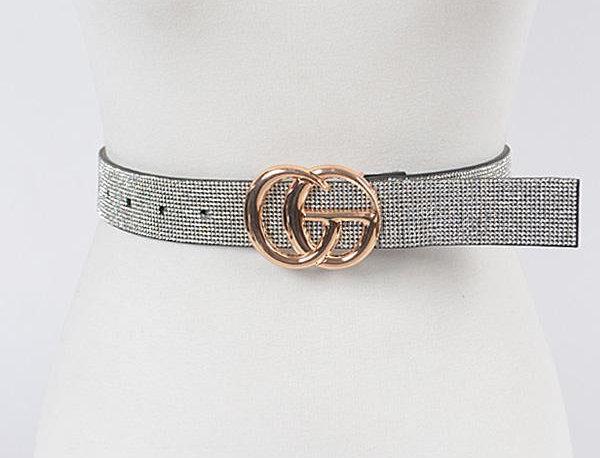 Silver Shining Belt