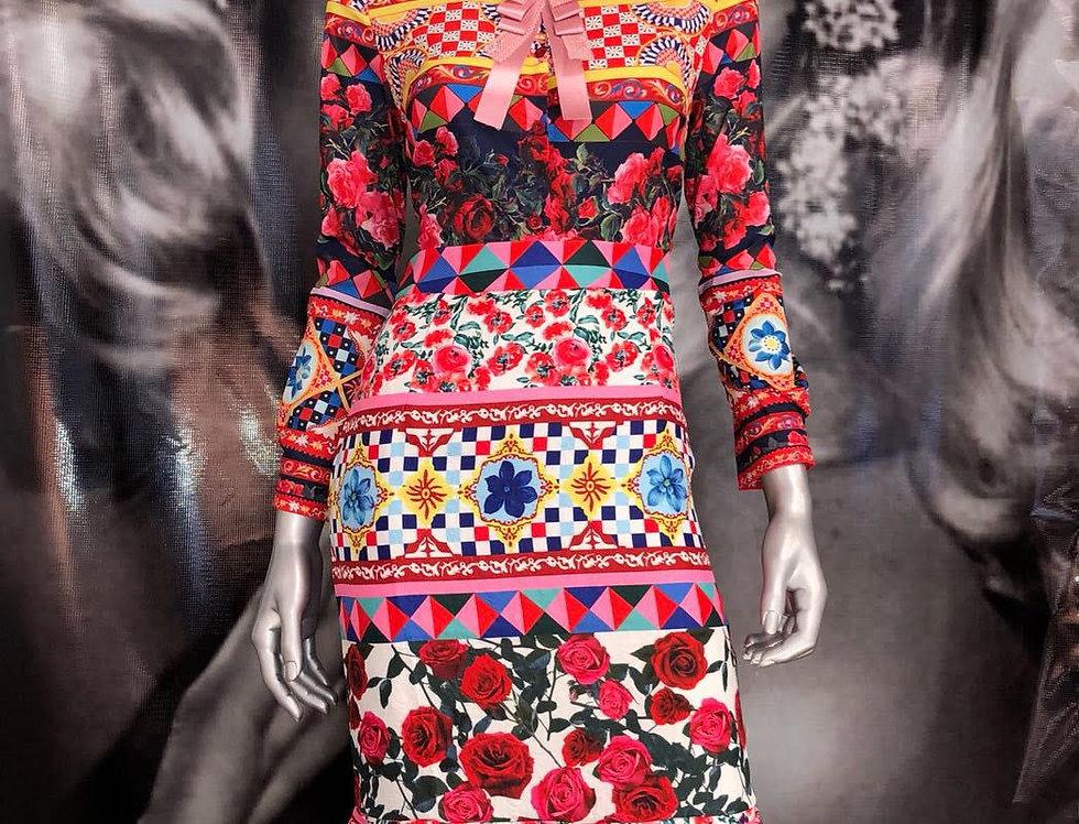 Multicolor Skirt
