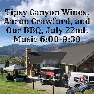 Tipsy Canyon Wines, Aaron Crawford, and
